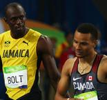 Bolt's rival De Grasse out of World Championships
