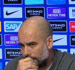 """I don't know"" - Guardiola responds to journalists' Liverpool questions"