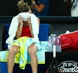 Bruised and battered – Halep didn't expect to reach Aus Open final