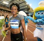 Elaine Thompson Adds Diamond Sparkle to her Olympic Gold