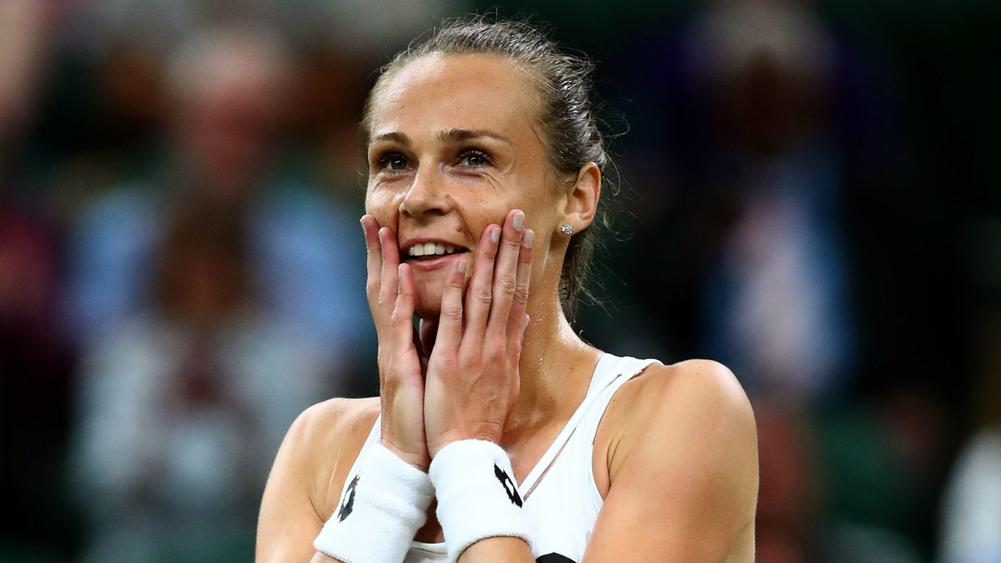 Rybarikova fairy tale continues as she storms into semis