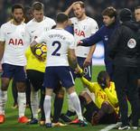 Watford 1 Tottenham 1: Sanchez sent off as 10-man Spurs earn away point