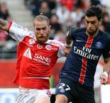 Pastore happy with point against Reims