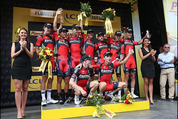 BMC Wins Team Time Trial on Stage 9 of Tour de France