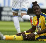 Zaha: I'd have to break my leg for a red card