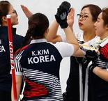 Curling: Republic of Korea 11 Olympic Athlete from Russia 2