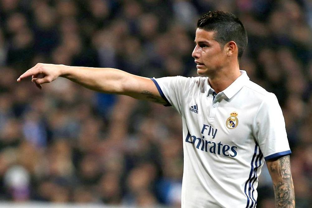 Mercato Real Madrid: James voudrait finalement partir !
