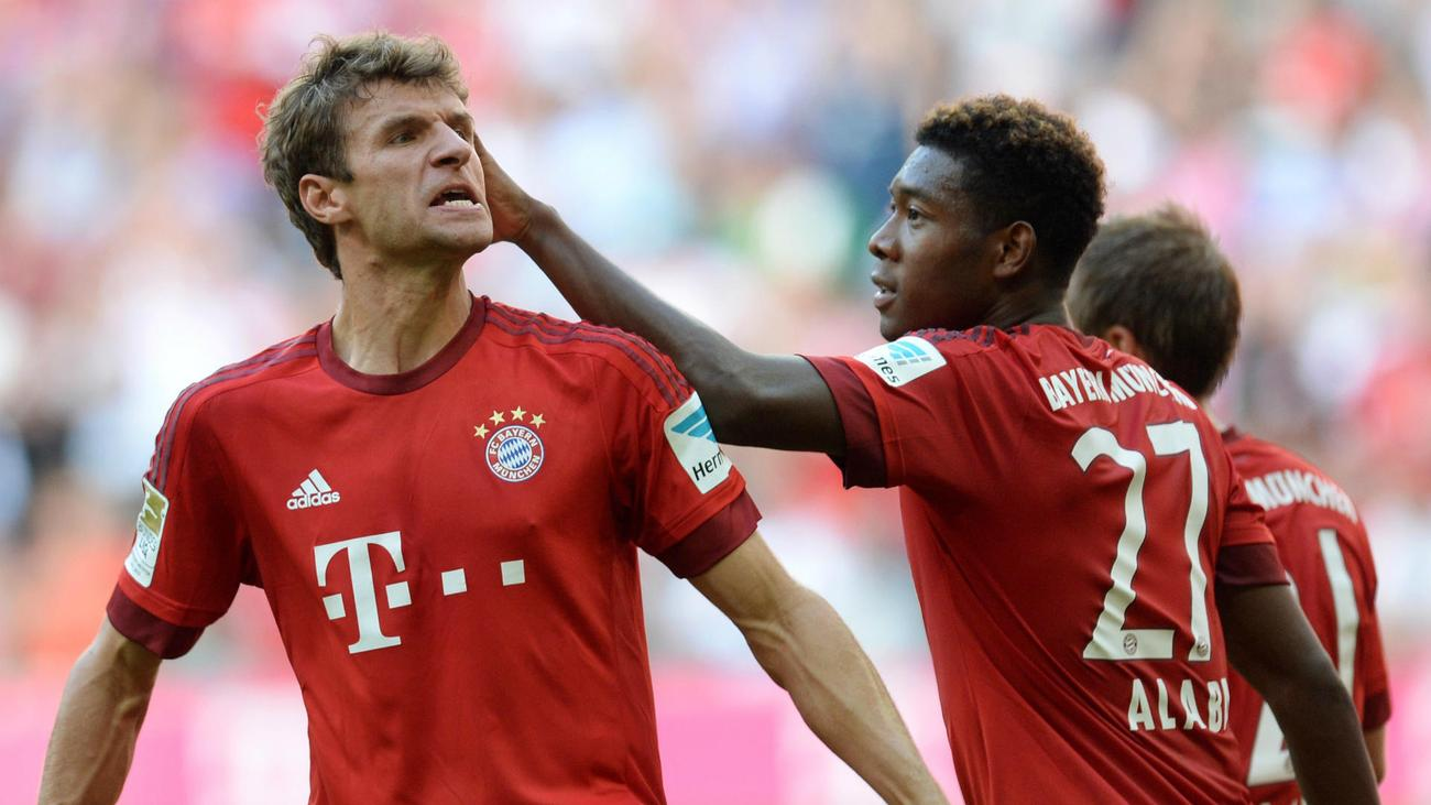 Bayern without Muller, Alaba and Lahm against Ingolstadt as Robben ...