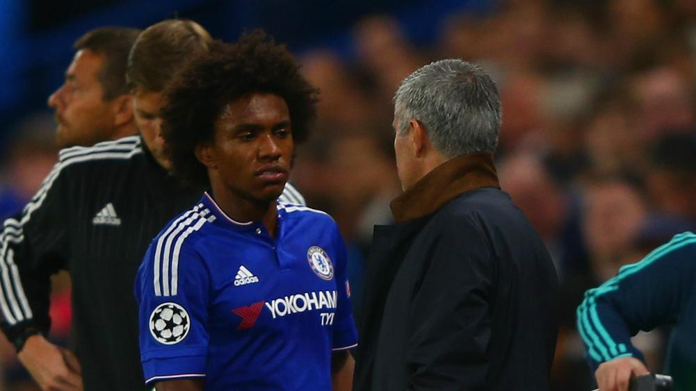 Willian Jose Mourinho