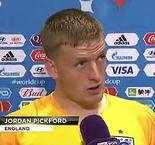 Jordan Pickford reaction