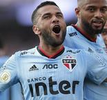Alves Scores on Debut to Lead Sao Paulo to Victory