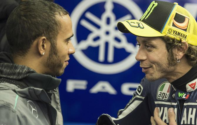 Lewis Hamilton: I Want to be Like Valentino Rossi