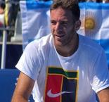 Del Potro Back On Court Following Knee Injury