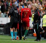 "Juventus Confirm Ronaldo's ""Minor Thigh Injury"""