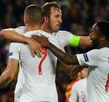 England topples Spain as Sterling ends drought