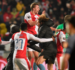 Sevilla crash out of Europa League after remarkable Slavia Prague comeback