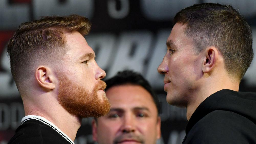 Canelo vs. GGG: Both fighters weigh-in at 160 pounds