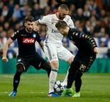 UEFA Champions League: Real Madrid 3 Napoli 1