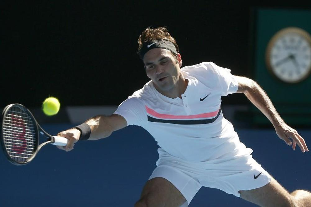 Federer file en quarts facilement
