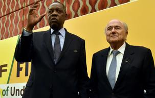 Hayatou to replace Blatter at helm