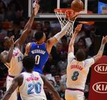NBA : Westbrook envoie le Thunder en playoffs