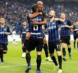 Inter warm up for Barca with five-goal Genoa rout