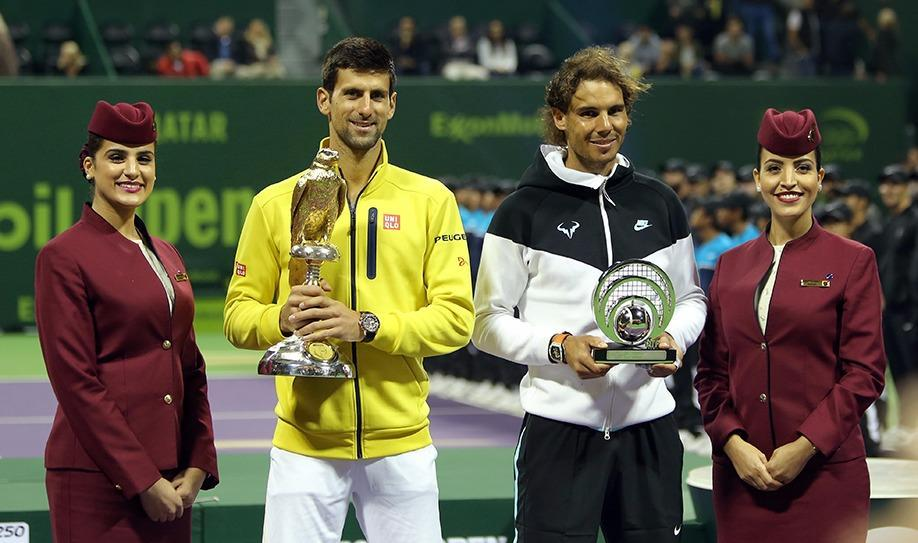 Novak Djokovic beats Rafael Nadal at Qatar ExxonMobil Open