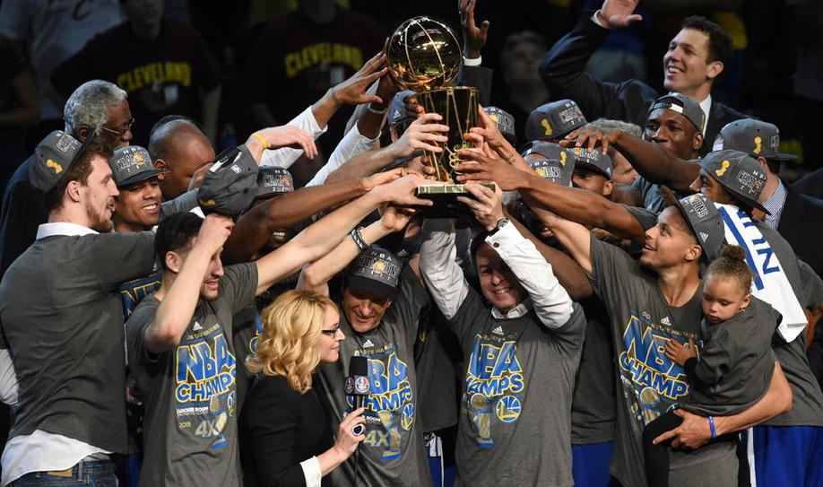 Warriors win NBA title