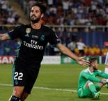 UEFA Super Cup: Isco makes it 2-0