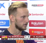 The XTRA: Interview With Ivan Rakitic After Barcelona's Season-Opening Win