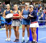 Barty and Vandeweghe lift US Open women's doubles title
