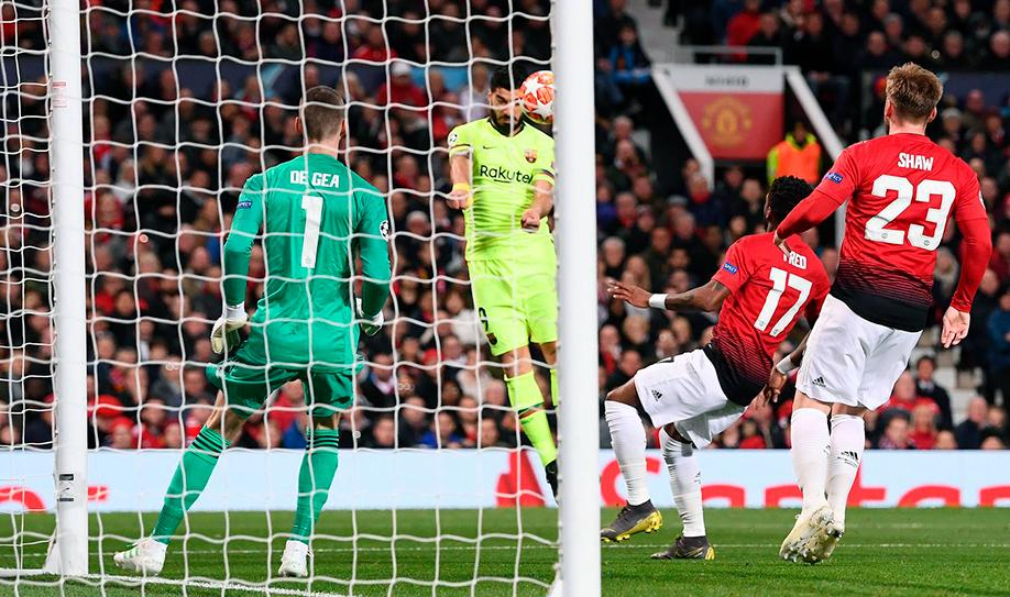 Manchester United 0-1 Barcelona