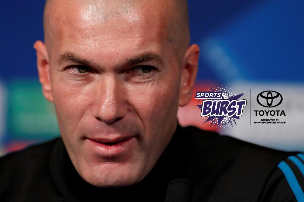 Zinedine Zidane defends Real Madrid star after win over PSG