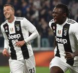 Juventus 4 Udinese 1: Allegri's men run riot to open up 19-point lead