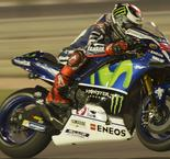 Defending MotoGP World Champion Jorge Lorenzo Sets Practice Pace In Qatar