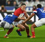 North bags double as France gift Wales victory