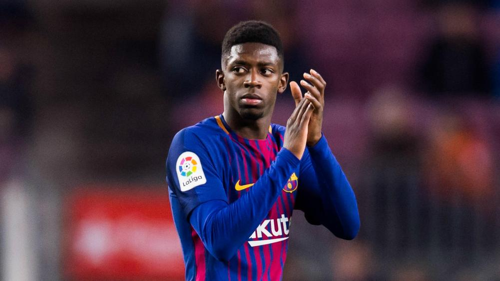 Dembele posts perfect pass completion on return to ...