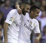 Benzema keeps Madrid top, Espanyol edges Sociedad thriller