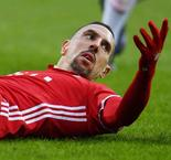 Ribery a Champions League doubt with hamstring injury