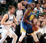 GAME RECAP: Warriors 119, Mavericks 114