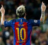 Messi punishes Guardiola with hat trick