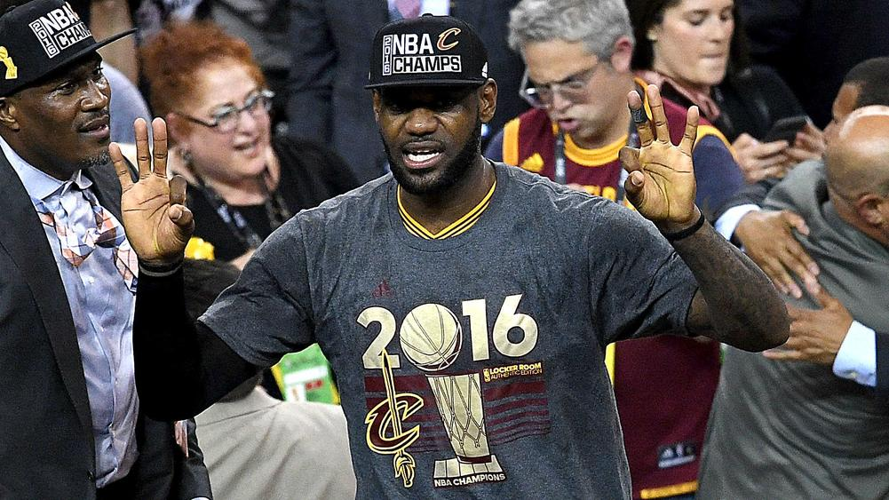 size 40 eebe5 7d9ea LeBron James Named NBA Finals MVP For A Third Time