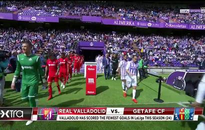 b9ebfe7444c81 Highlights  Last-Minute Equalizer Gives Getafe 2-2 Draw With Valladolid