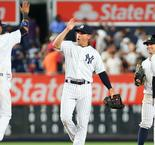 Yankees best slumping Bumgarner and Giants, Cabrera lifts Tigers