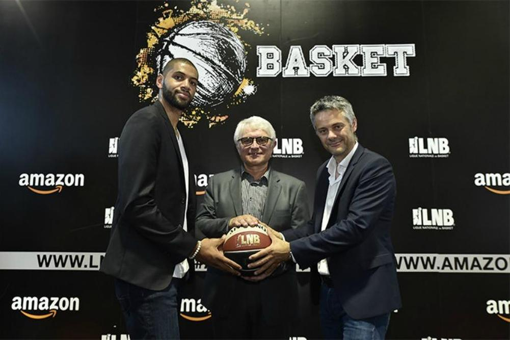 Accord historique entre la LNB et Amazon — BASKET (Pro A)