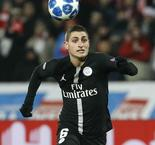 PSG Midfielder Marco Verratti Diagnosed With Sprained Ankle