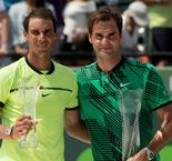 Nadal still sees 'big difference' to Federer's major haul