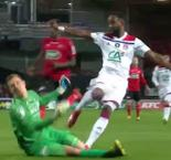 Dembele Gives Lyon Early Lead Over Guingamp