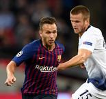 Valverde thrilled with Arthur display in Tottenham win