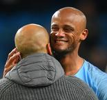 Guardiola set for crunch talks with Kompany
